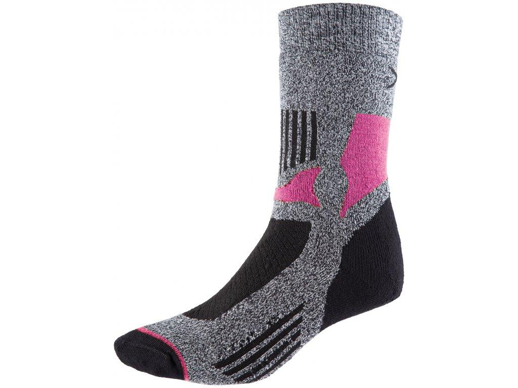 Ponožky OUTHORN SOUT600 L. gray mel šedá