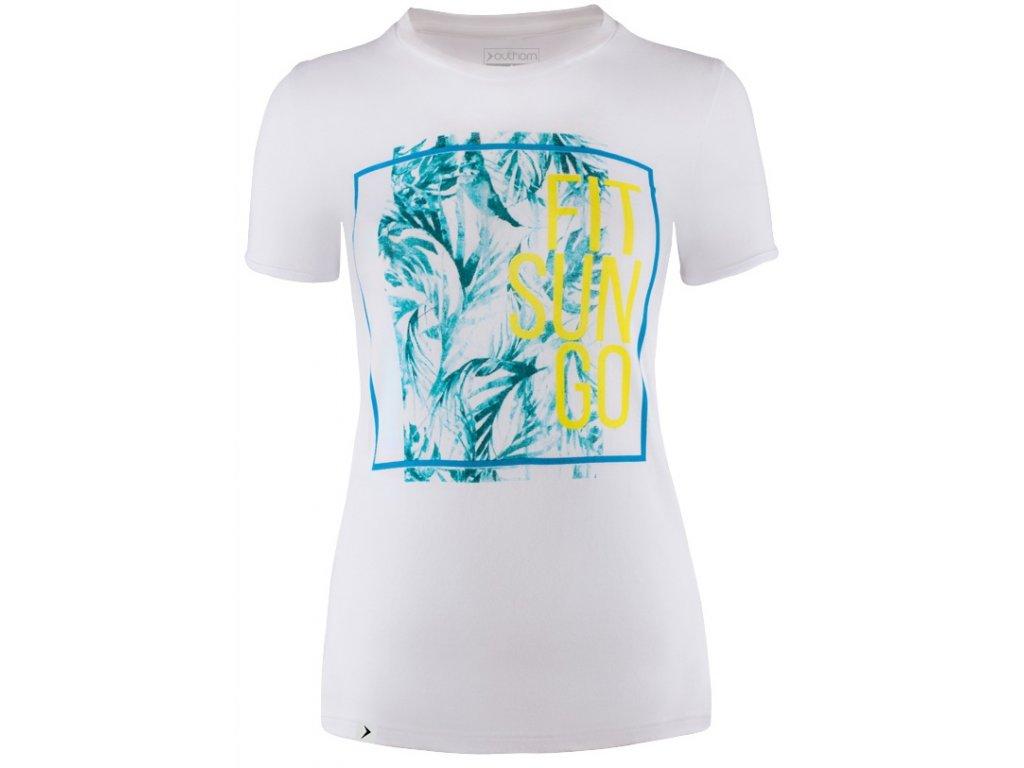 Dámské tričko Outhorn TSD609 White bílá