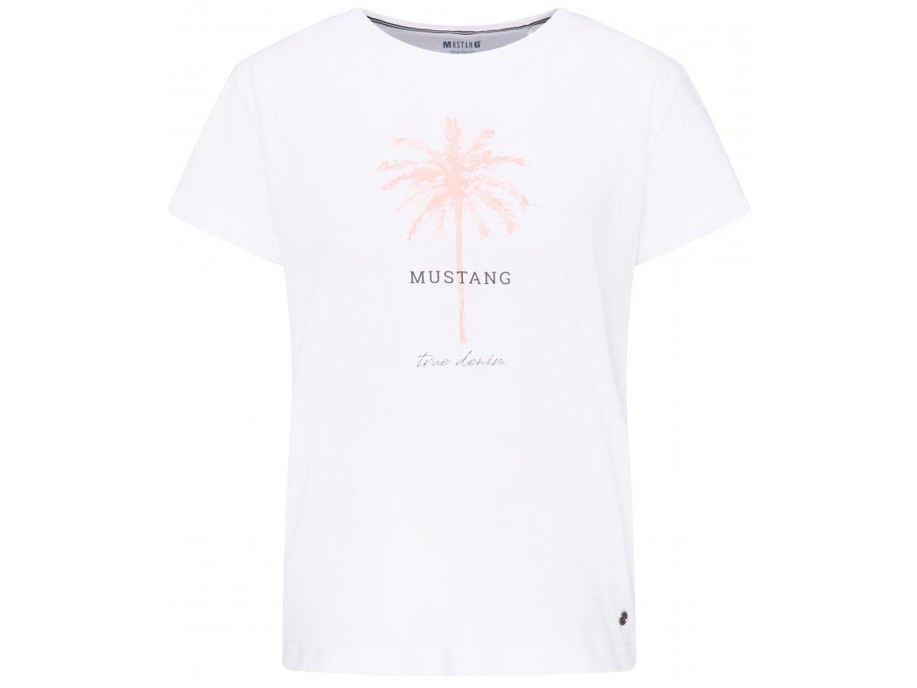 Dámské tričko Mustang 1007451 2045 bílá
