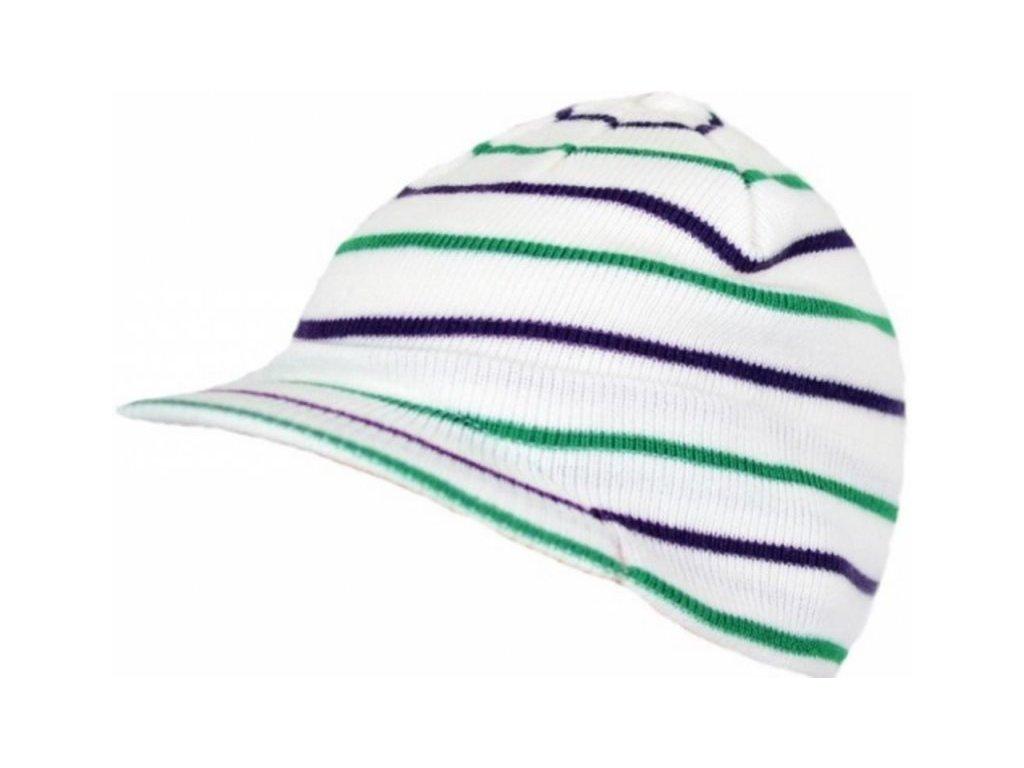 Pletená čepice s kšiltem Loap COOLY A14N