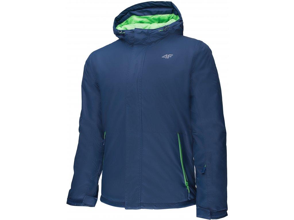 Pánská zimní bunda 4F KUN001 Navy modrá