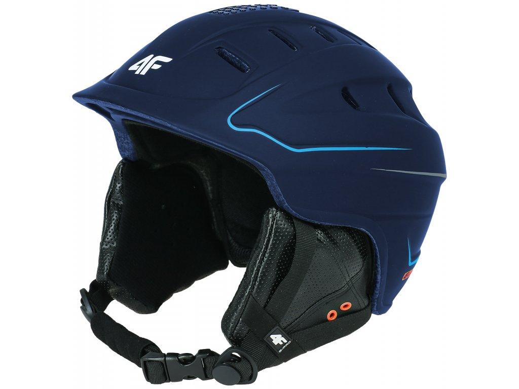 Pánská lyžařská přilba 4F KSM001 modrá