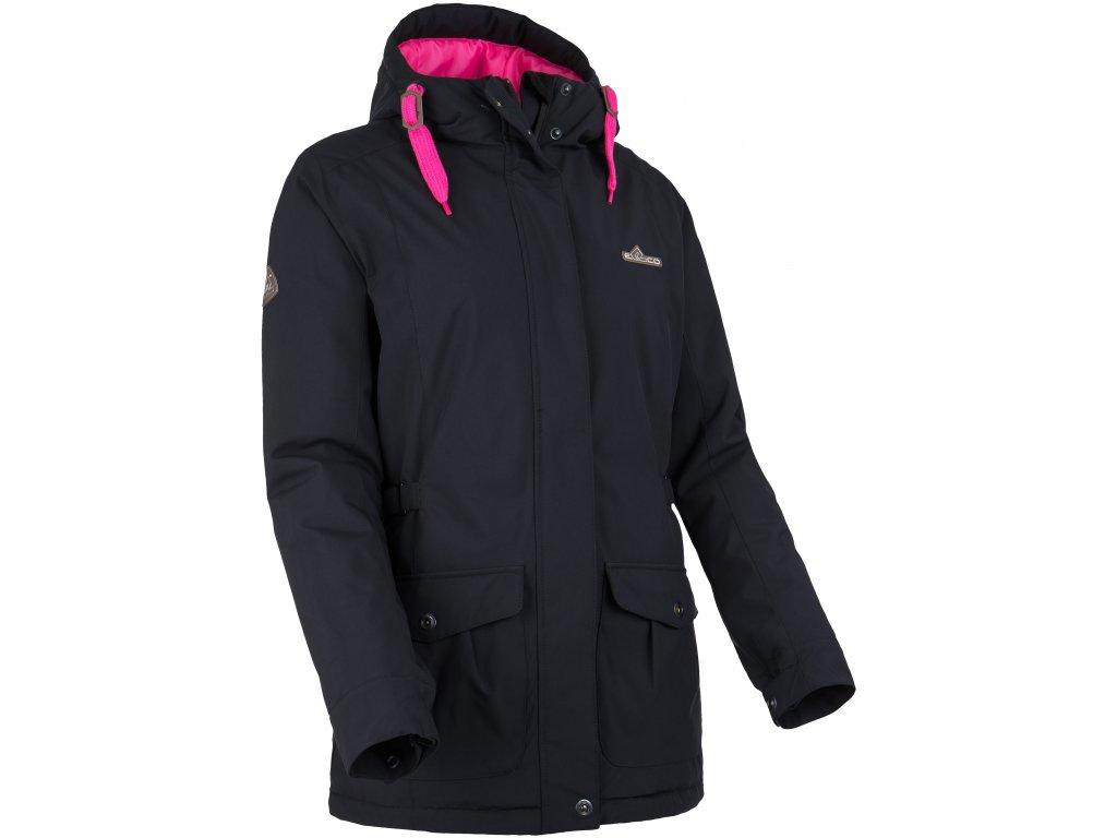 Dámská zimní bunda ERCO ALASIA BLK černá