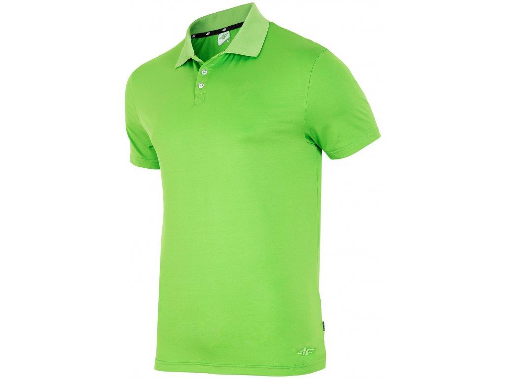 Pánské funkční tričko 4F TSMF005 Neon Green Zelená