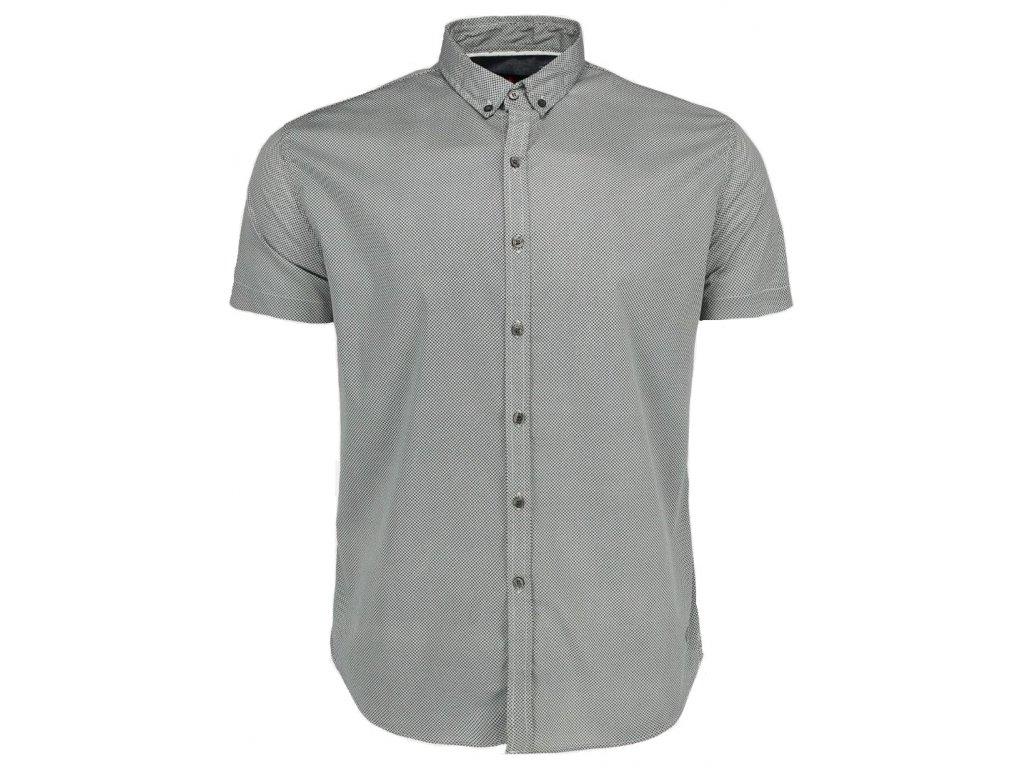 Pánská košile Volcano K-Mart 600 šedá