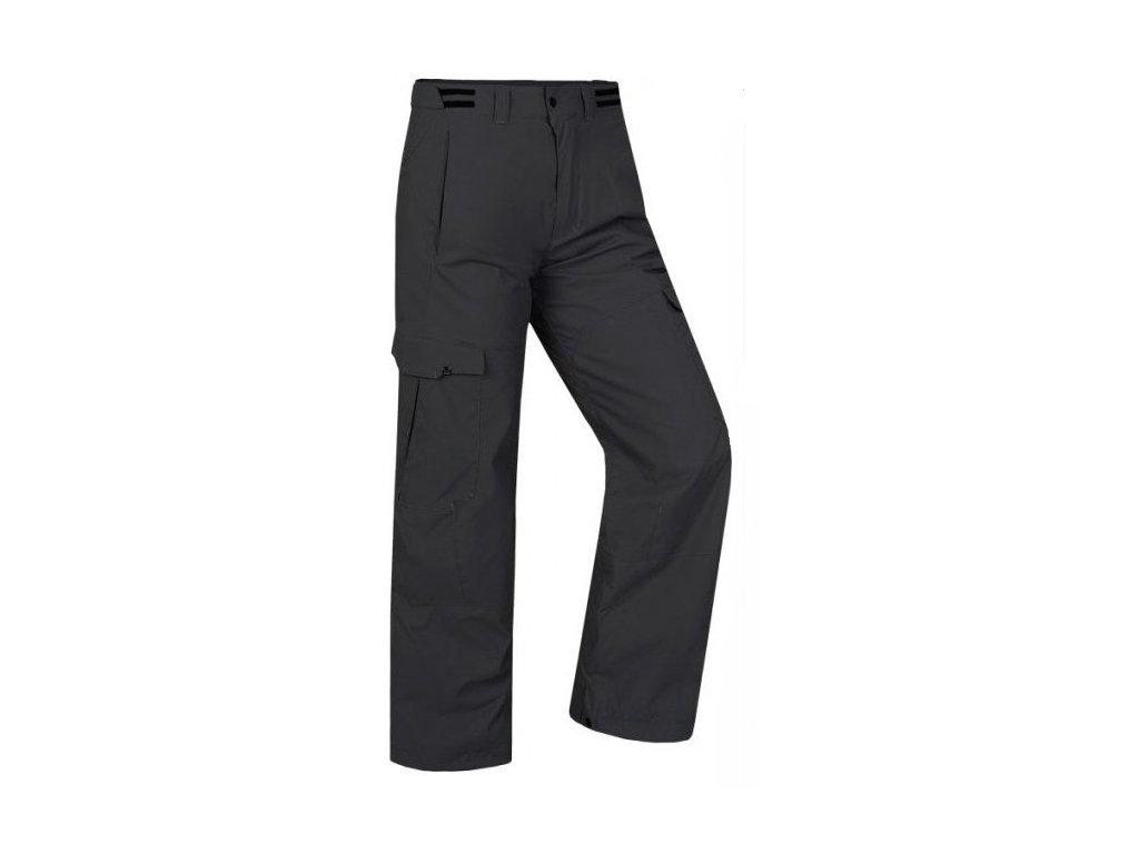 Pánské kalhoty Hannah GRACHEN Anthracite černá