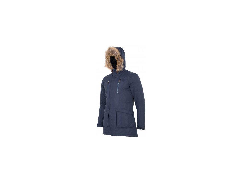 Pánská bunda 4F KUMC001 Graphite modrá