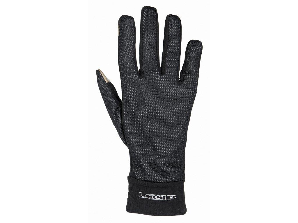 Univerzální sofshellové rukavice Loap RUSNOK černá