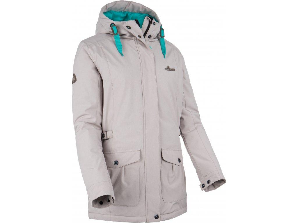 Dámská zimní bunda ERCO ALAIA GRY šedá
