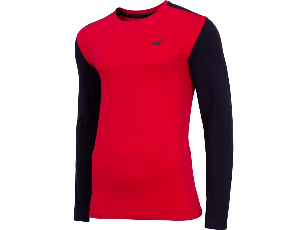 Pánské triko 4F TSML071 Red červená