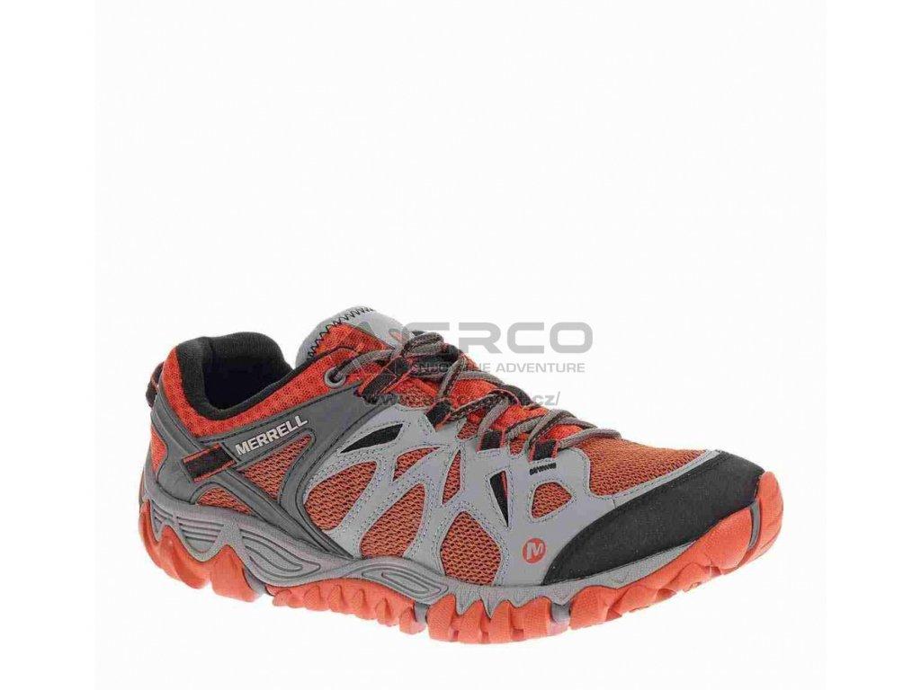 Pánské boty Merrell ALL OUT BLAZE AERO SPORT šedo-oranžová