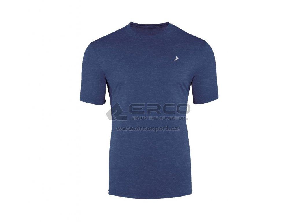 Pánské tričko Outhorn TSMF600 Navy mel