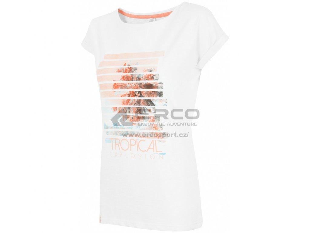 Dámské tričko 4F TSD009 White