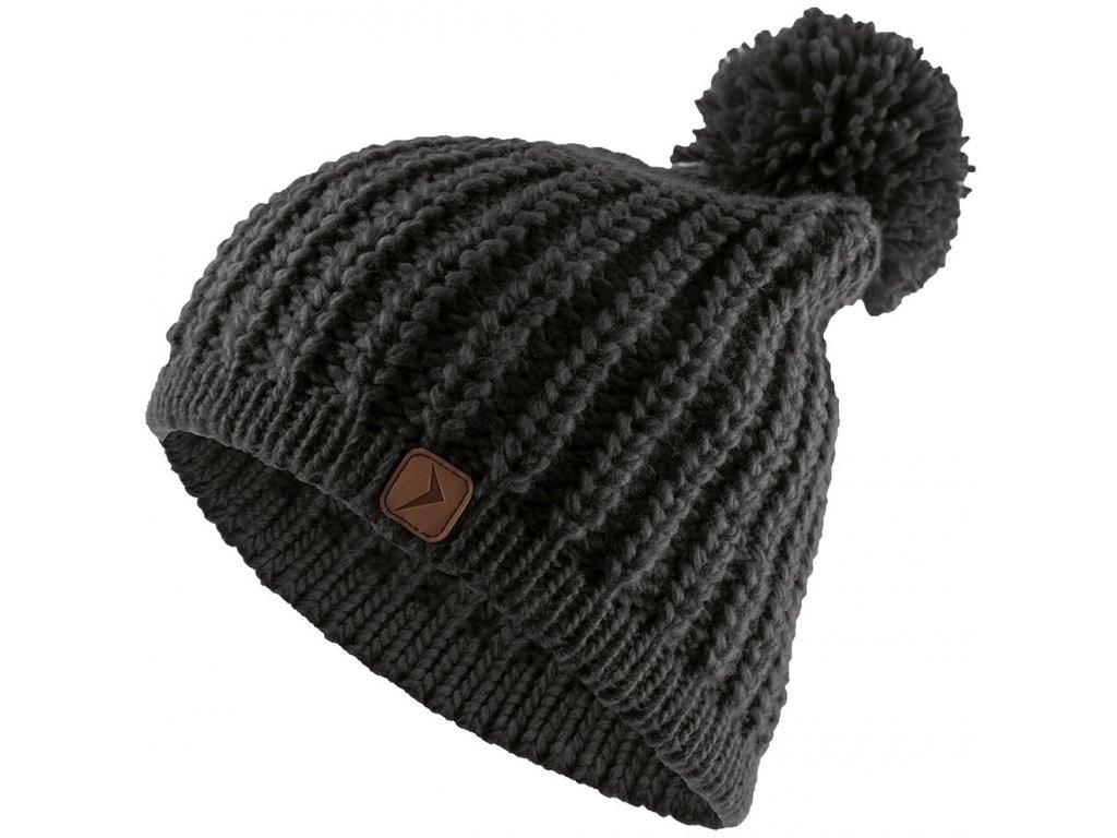 Dámská čepice Outhorn CAD615 Deep black černá