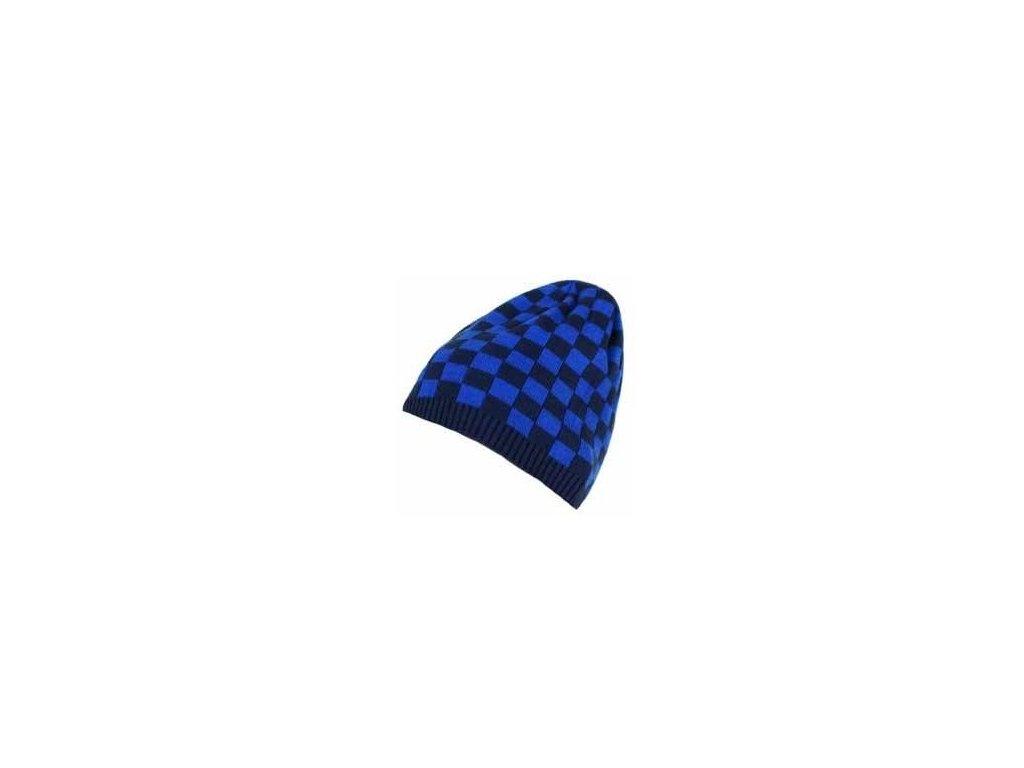 Pletená čepice Loap CUBEL L90L modrá