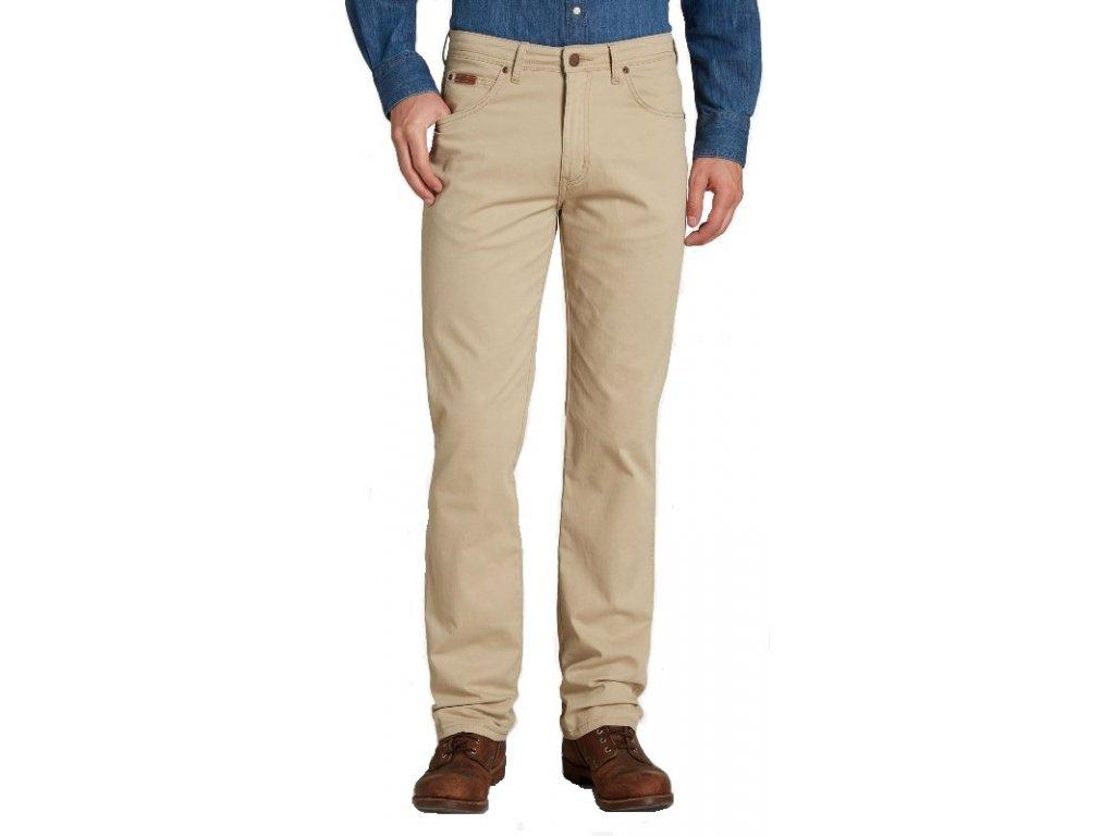 Pánské kalhoty Wrangler Arizona 49J béžová
