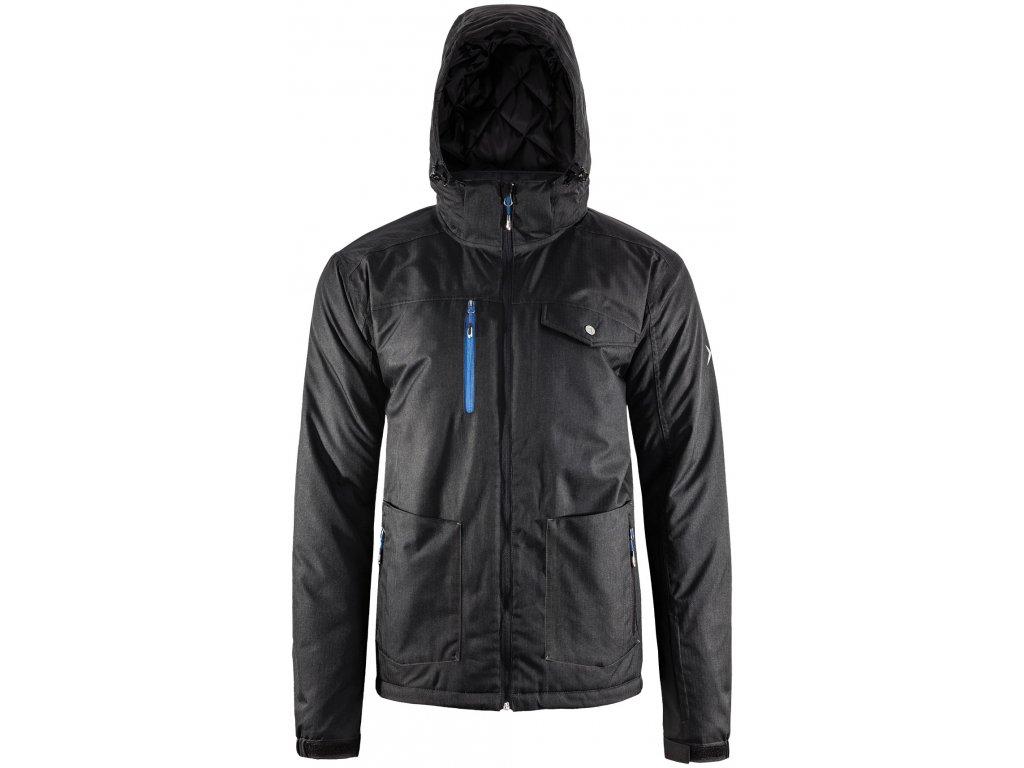 Pánská lyžařská bunda Outhorn KUMN604 Black černá