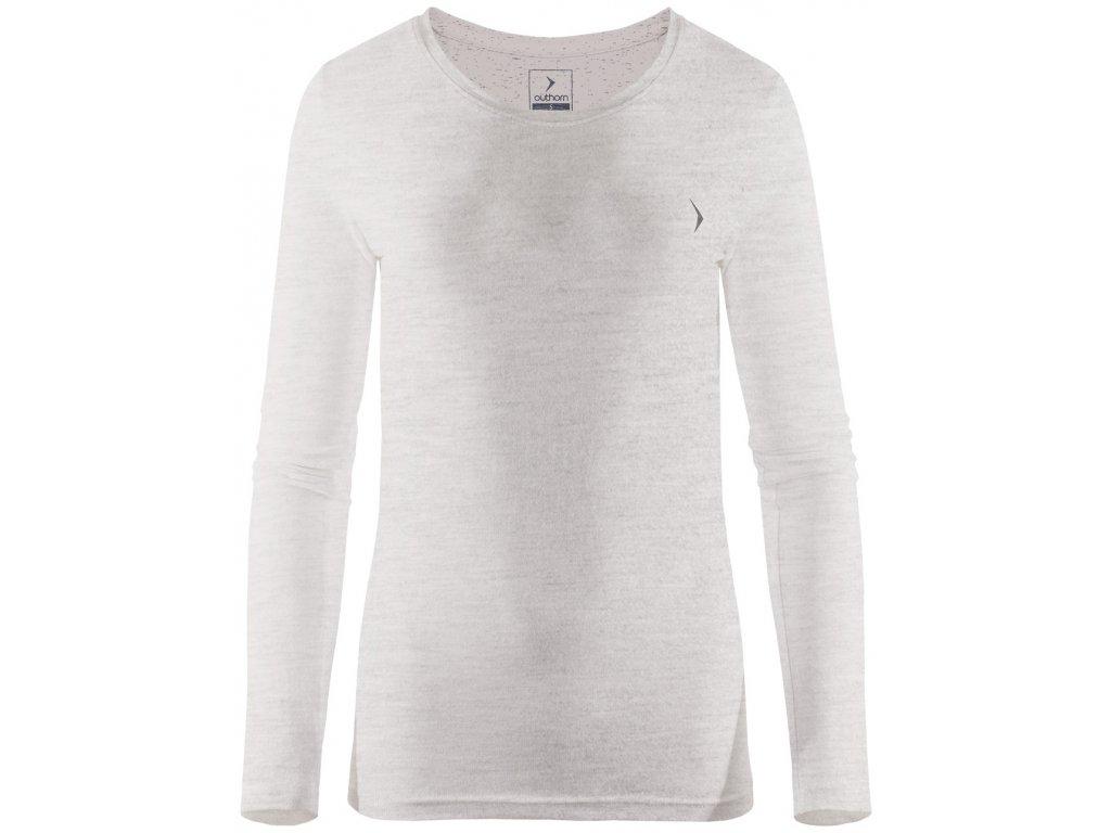 Dámské triko Outhorn TSDL600 L Gray mel šedá