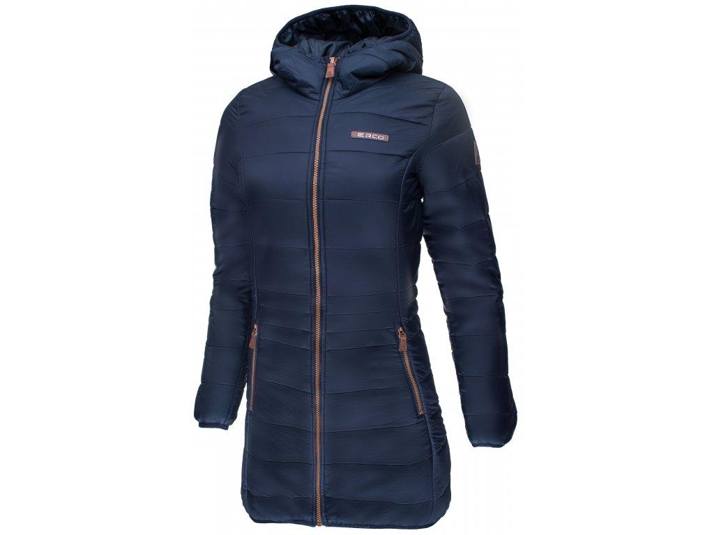 Dámský zimní kabát ERCO KAIRA NEW DBL modrá
