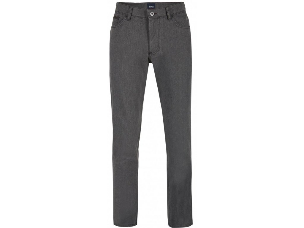 Pánské jeans Hattric 688735 Hunter 08 šedá