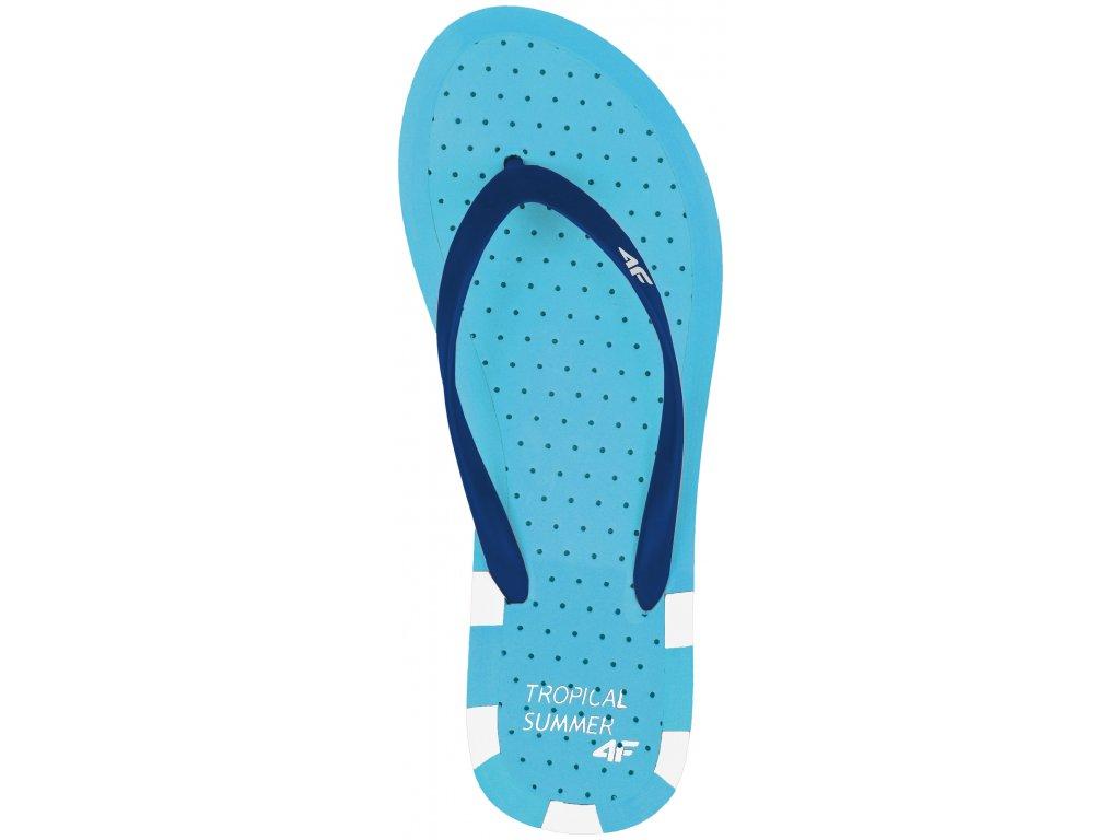 Dámské pantofle 4F KLD003 34S modrá