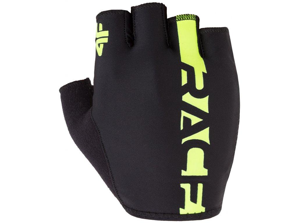 cyklistické rukavice 4F RRU005 20S černá