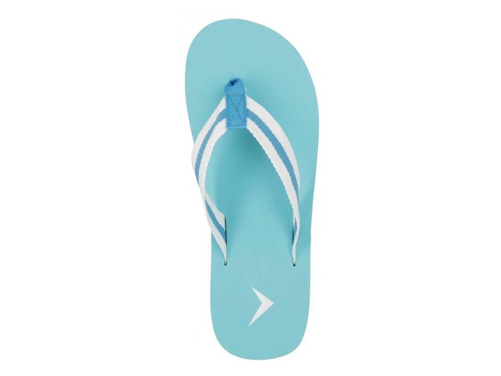 Dámské pantofle Outhorn KLd601 Teal modrá
