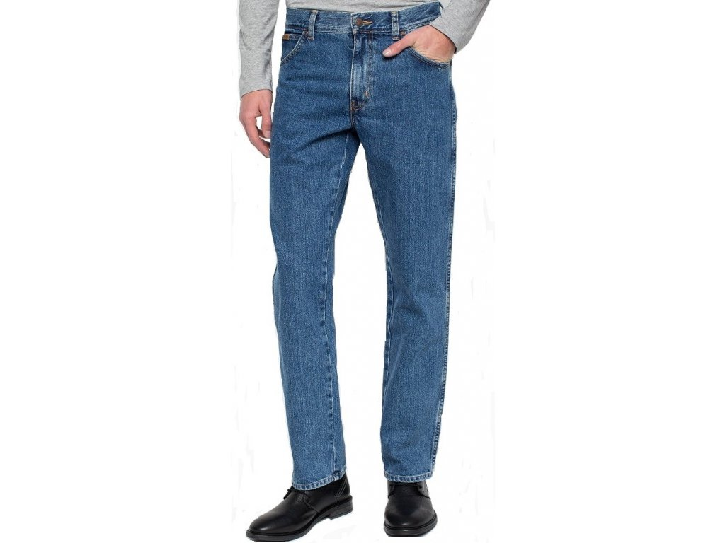 Pánské jeans Wrangler Texas 096 modrá