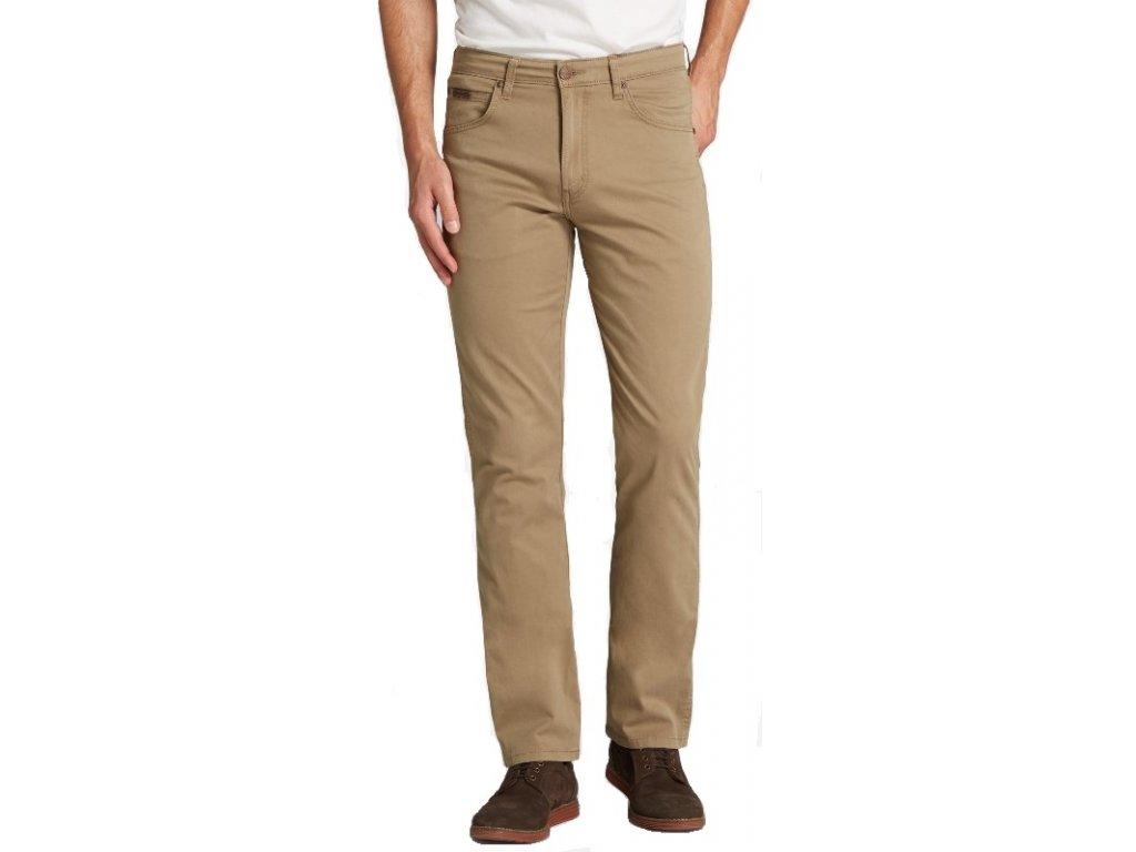 Pánské kalhoty Wrangler Arizona 68C béžová