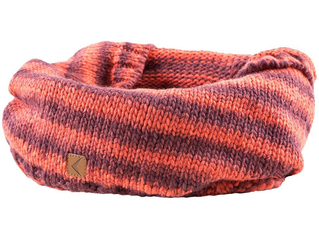 Šála Outhorn SZD606 claret červená
