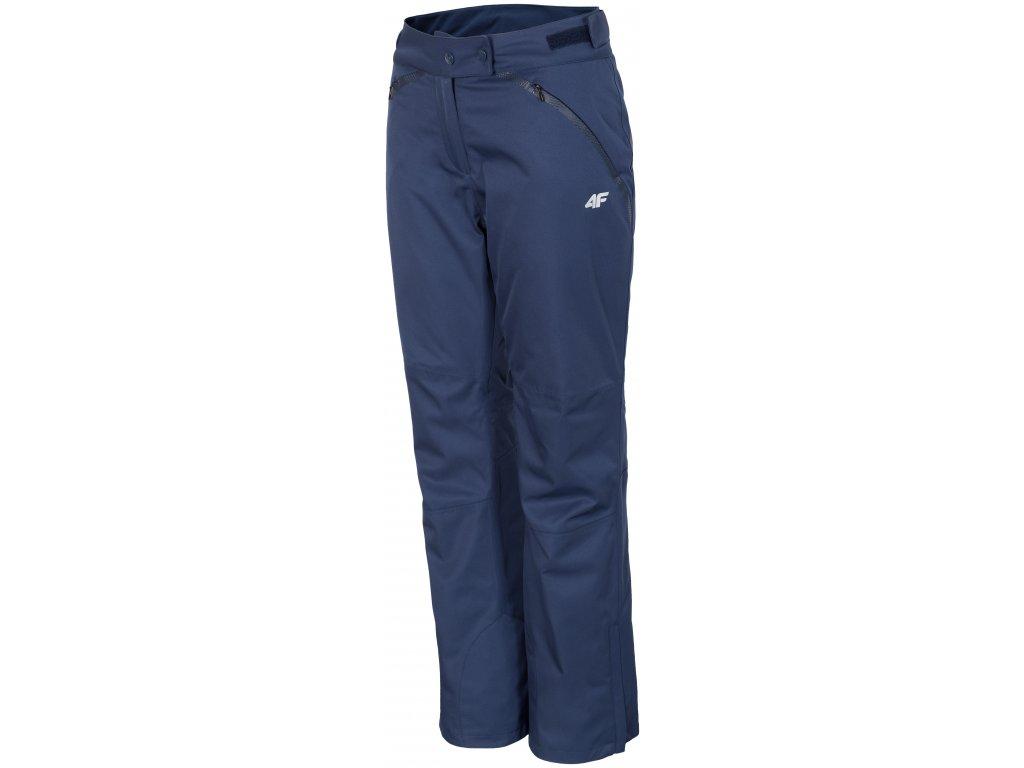 Dámské lyžařské kalhoty 4F SPDN152 Navy 31S modrá
