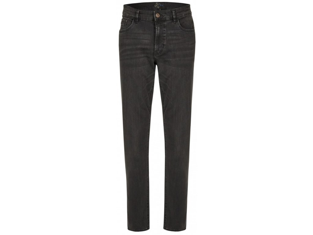 Pánské jeans Hattric 688985 Jeans Hunter High Stretch Denim 07 šedá