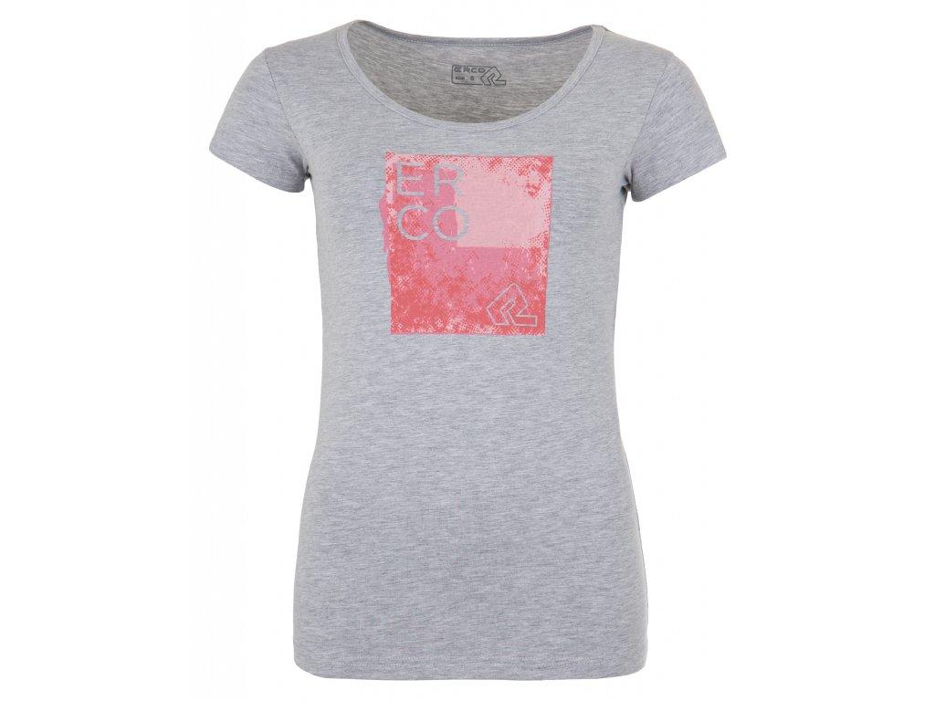 Dámské tričko ERCO ELEGY L GRY šedá
