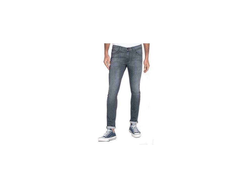 Pánské jeans Lee L719 FQSF šedá