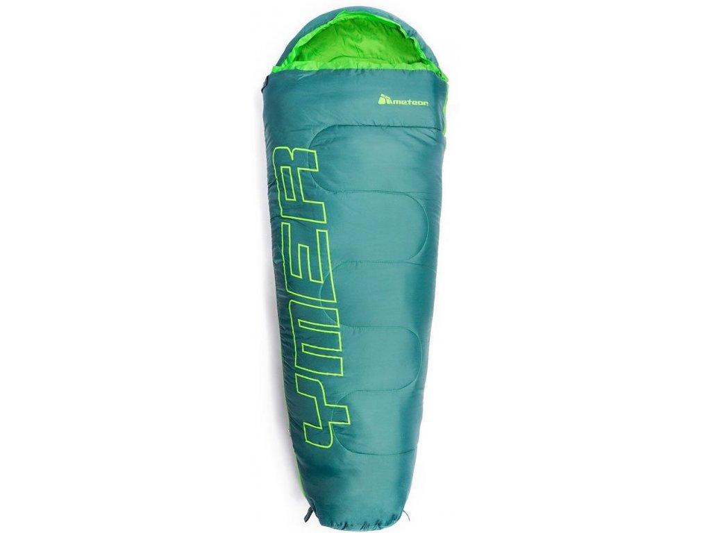 Spací pytel Meteor 81139 ciemnozie/zielony