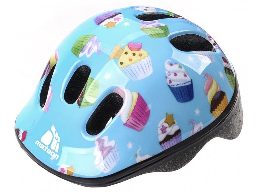Dětská cyklistická helma Meteor 24588 muffins