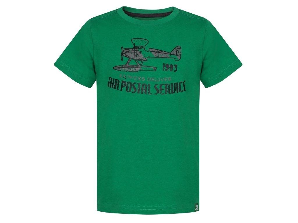 Dětské tričko Loap BINK N83T zelená
