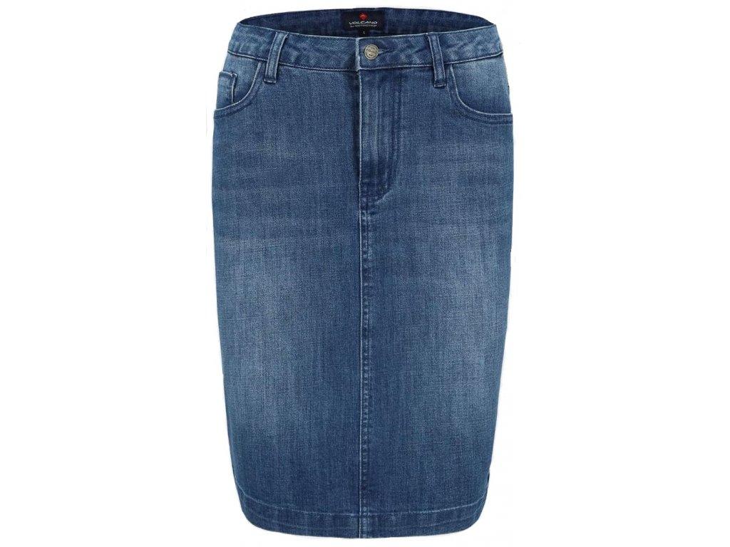 Dámská sukně Volcano G-Katy 611 modrá