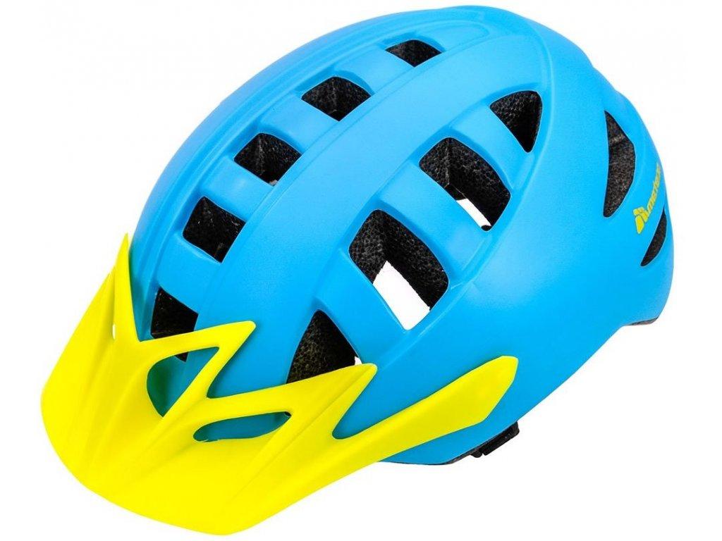 Cyklistická helma Meteor 23983 blue/yellow