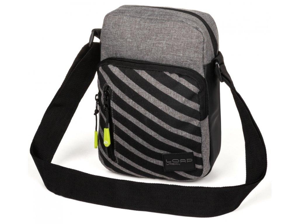 Sportovní taška Loap GYRO V15V šedá
