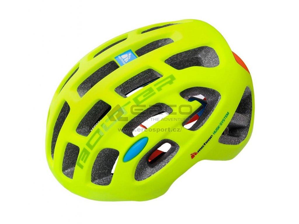 Cyklistická helma Meteor 24775 green zelená
