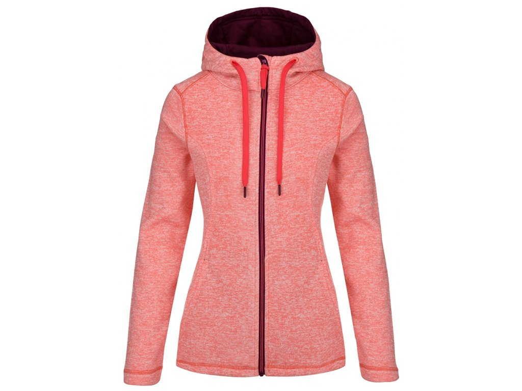 Dámský svetr Loap GABRY H08X oranžová
