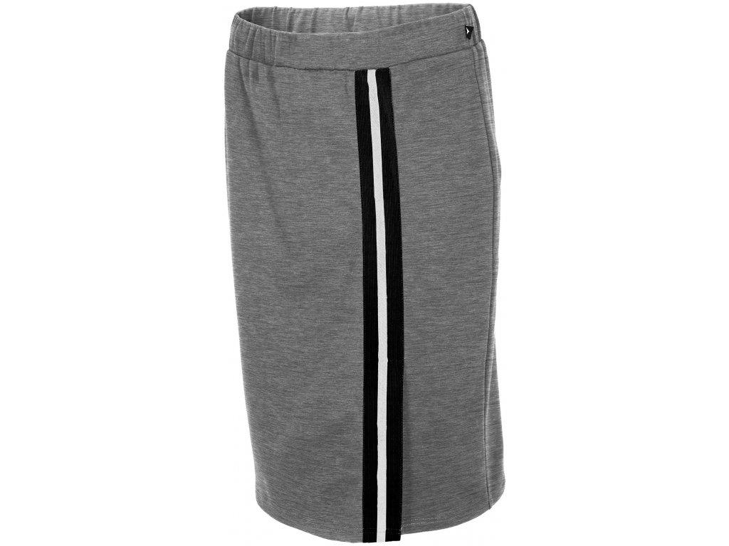 Dámská sukně Outhorn SPUD600 Cold l. grey mel. šedá