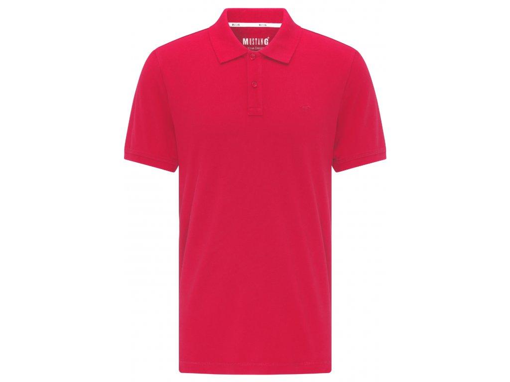 Pánské tričko Mustang 1007838 7189 červená