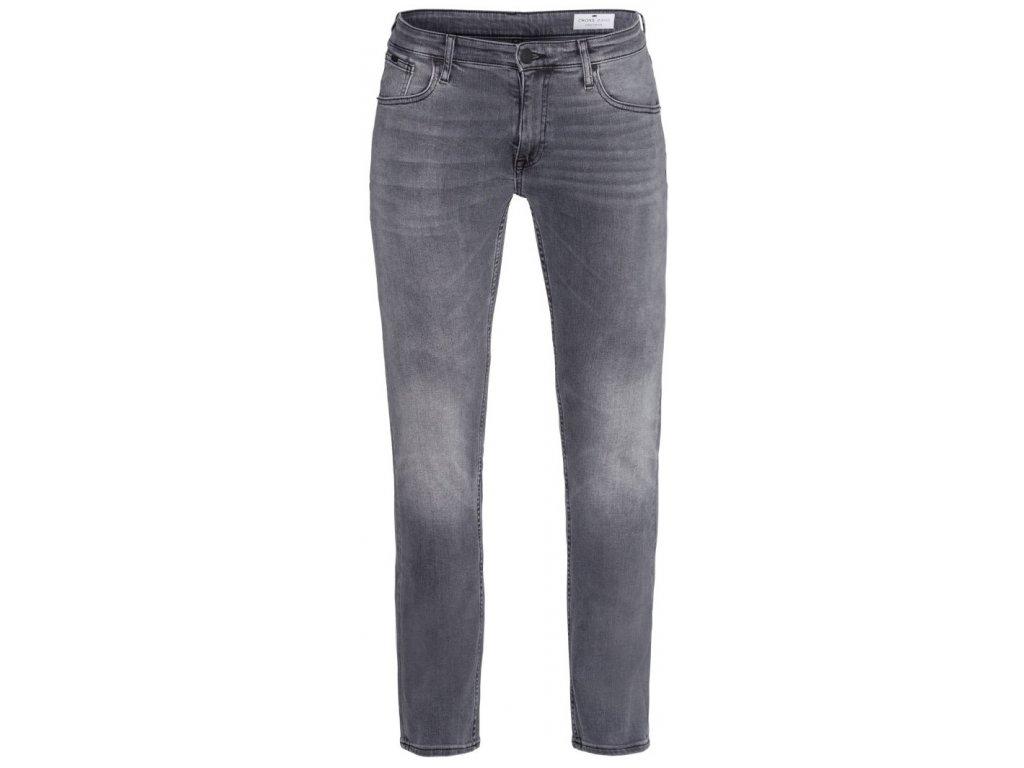 Pánské jeans Cross Damien 010 šedá