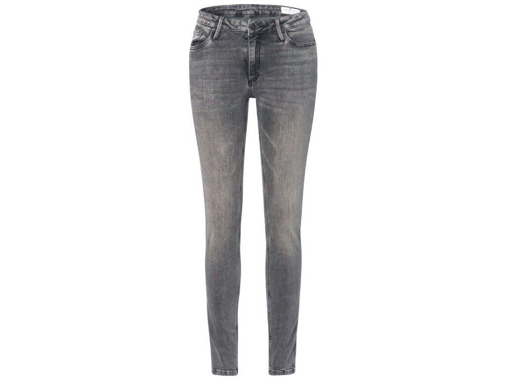 Dámské jeans Cross Alan 100 šedá
