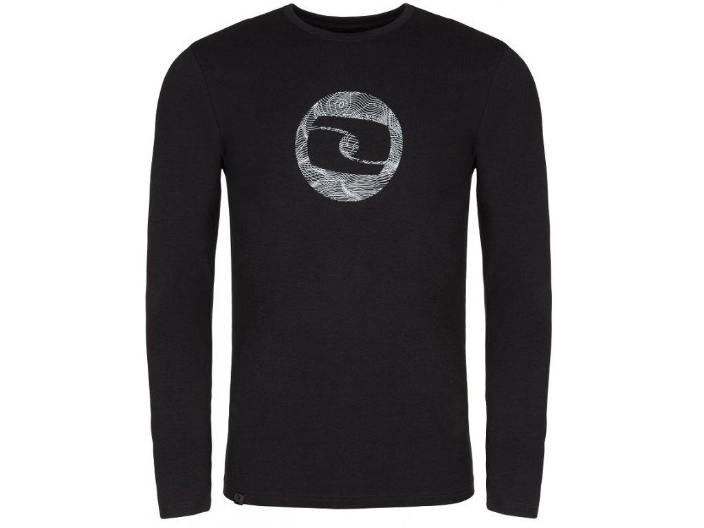 Pánské triko Loap ALBIN V24T černá
