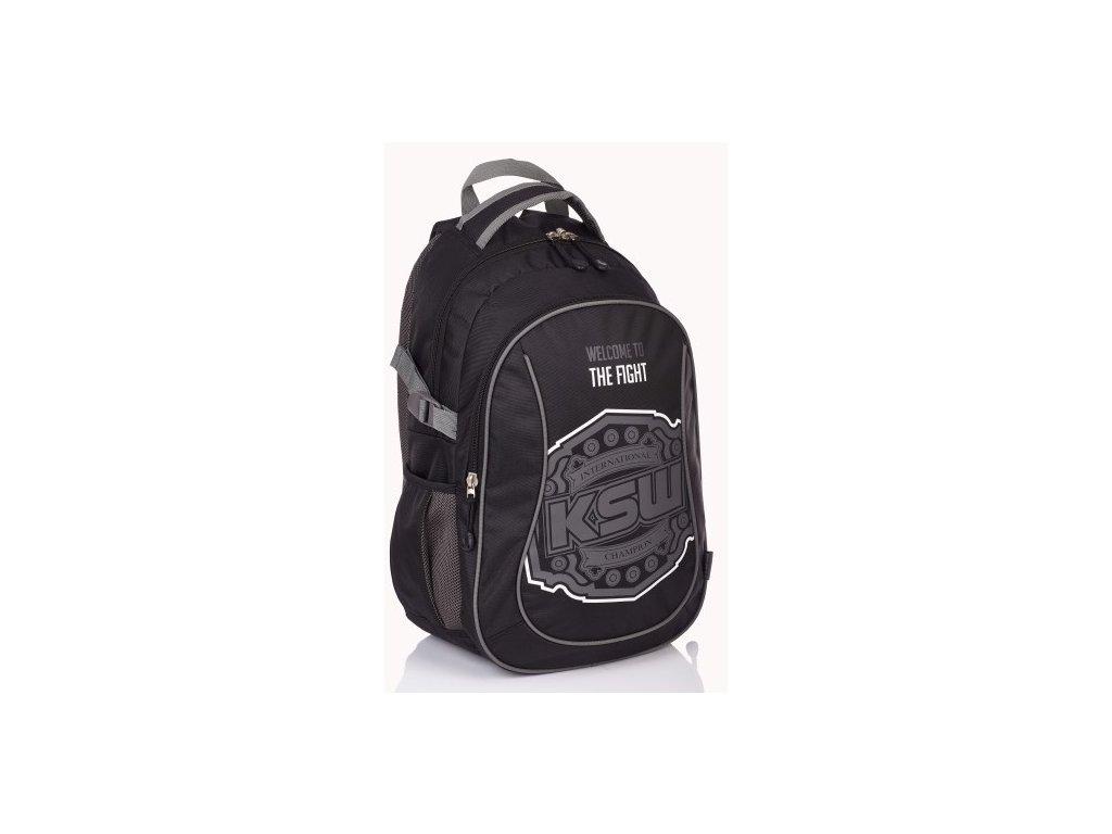 Školní batoh KSW 78808 01 černá