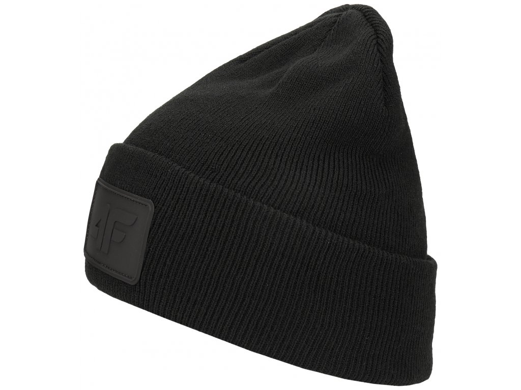Pánská čepice 4F CAM064 Deep black černá