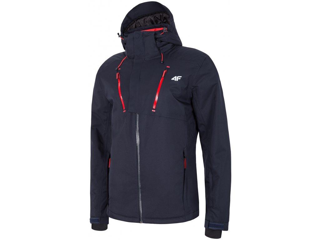 Pánská lyžařská bunda 4F KUMN072 D.blue modrá